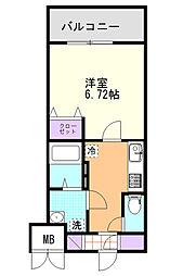 (仮)D-Room東高砂[102号室]の間取り