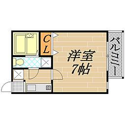 マンションK4[401号室]の間取り
