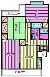 SKマンション11[303号室]の間取り