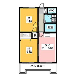 アーバンSTM[4階]の間取り