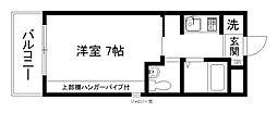 サンフェスタ東福寺A棟[2階]の間取り