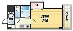 サツキマンション[3階]の間取り