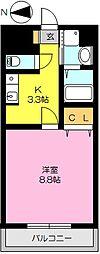 ドリーム大財XV(契約金キャンペーン)[305号室]の間取り