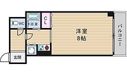 ビスト江戸堀[7階]の間取り