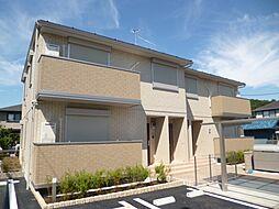 東京都武蔵村山市岸2丁目の賃貸アパートの外観