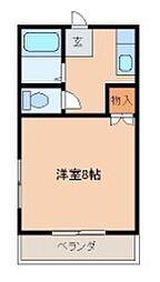 Y's room花畑[B202号室]の間取り