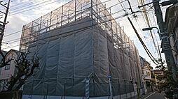 東京都大田区大森西5丁目の賃貸アパートの外観