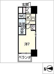 S−RESIDENCE千種[3階]の間取り