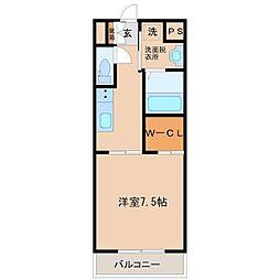 Aletta合川町[502号室]の間取り