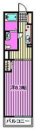 ル・プチモンド[1階]の間取り