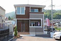 広島県広島市佐伯区五日市町大字下河内の賃貸アパートの外観
