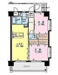 (仮称)延岡・大貫町3丁目中尾マンション[105号室]の間取り