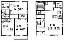 [一戸建] 広島県福山市本庄町中3丁目 の賃貸【/】の間取り
