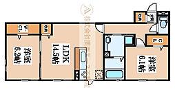 仮称)D-room陵南町[3階]の間取り