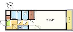 ダイトープラザファースト[2階]の間取り