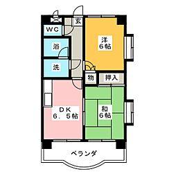 マルシェ横須賀[2階]の間取り