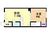 間取り,1DK,面積24.09m2,賃料3.0万円,バス あさでんバス東1条2丁目下車 徒歩1分,JR函館本線 旭川駅 徒歩28分,北海道旭川市金星町2丁目3番11号