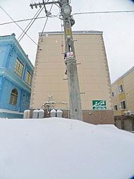 北海道札幌市手稲区西宮の沢五条1丁目の賃貸アパートの外観