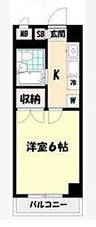 サンハイツ松丸[2階]の間取り