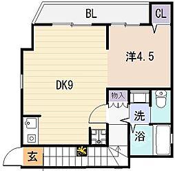ぷちたまごパートII[2階]の間取り
