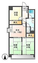 第3田中ビル[5階]の間取り