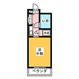 エル・エスポア御器所[3階]の間取り