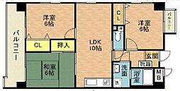 DSパレリオンドール[7階]の間取り