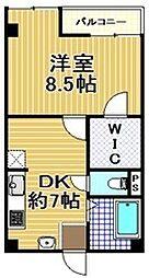 一吉マンション[3階]の間取り