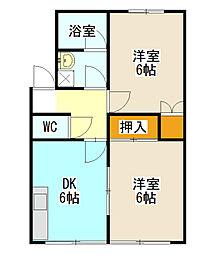 メゾン新栄V[103号室]の間取り