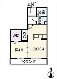 仮)D−room徳田[2階]の間取り