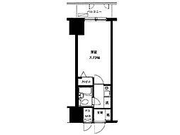 朝日八王子マンション[4階]の間取り