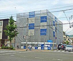 京都府京都市左京区田中飛鳥井町の賃貸マンションの外観