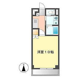 DI−3[4E号室]の間取り