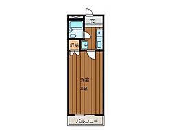 メゾンオーブル[1階]の間取り