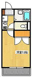 インペリアル湘南II[3階]の間取り