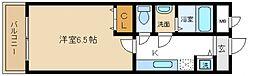 シャンティー泉佐野[3階]の間取り