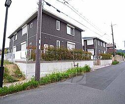 京都府木津川市梅美台の賃貸アパートの外観