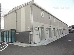 埼玉県入間郡毛呂山町岩井東1丁目の賃貸アパートの外観