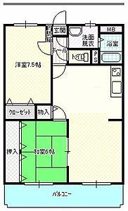 間取り,3DK,面積60.94m2,賃料6.2万円,,,香川県高松市伏石町2157-10
