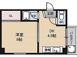 ADVANCE5[2階]の間取り