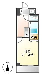 マーベラス新栄[6階]の間取り