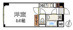 アスティエ渋谷松涛[2階]の間取り