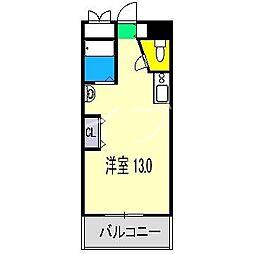 アーバンシンフォニー美門[2階]の間取り