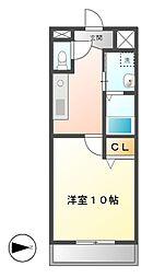 YOSHIX代官町[4階]の間取り