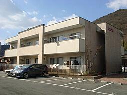 兵庫県姫路市広畑区西蒲田の賃貸マンションの外観