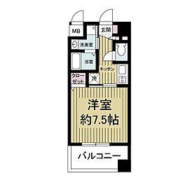 willDo新大阪[1105号室]の間取り