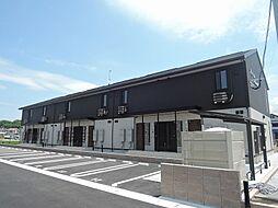 福岡県中間市長津3丁目の賃貸アパートの外観
