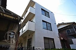 東京都大田区西蒲田1丁目の賃貸マンションの外観