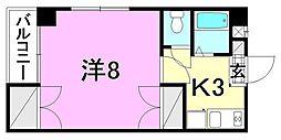 メイプル中村[402 号室号室]の間取り