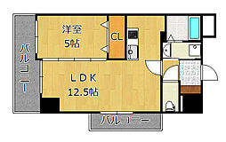 THE SQUARE・Grand Residence[11階]の間取り